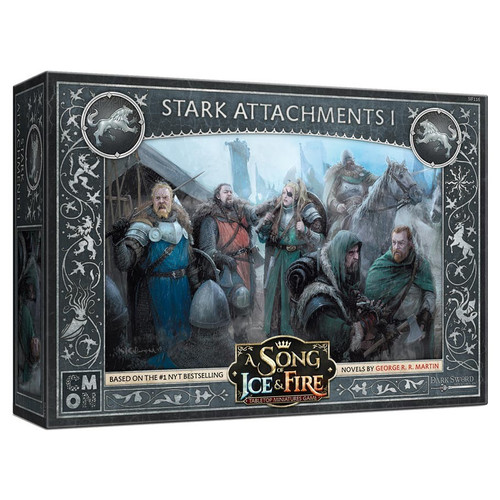 A Song of Ice & Fire Tabletop Miniatures Game: House Stark - Stark Attachments #1