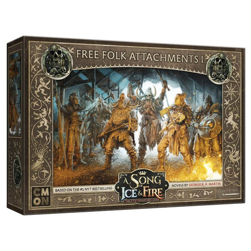 A Song of Ice & Fire Tabletop Miniatures Game: Free Folk - Free Folk Attachments #1