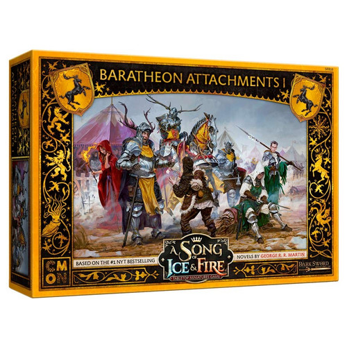 A Song of Ice & Fire Tabletop Miniatures Game: House Baratheon - Baratheon Attachments #1