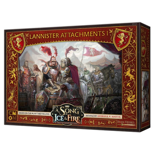 A Song of Ice & Fire Tabletop Miniatures Game: House Lannister - Lannister Attachments #1