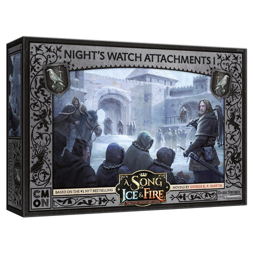 A Song of Ice & Fire Tabletop Miniatures Game: Night's Watch - Night's Watch Attachments #1