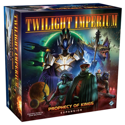 Board Games: Expansions and Upgrades - Twilight Imperium: Prophecy of Kings Expansion