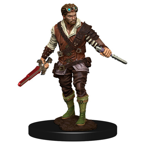 RPG Miniatures: Adventurers - Human Rogue Male - Icons Of The Realms Premium Figure
