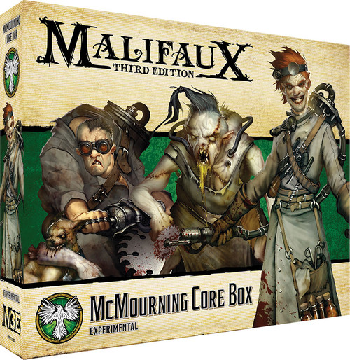 Malifaux: Resurrectionists - McMourning Core Box