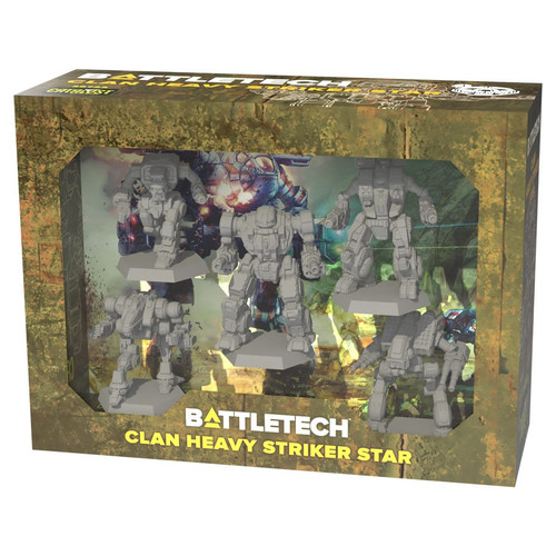 Battletech: Clan Heavy Striker Star Force Pack