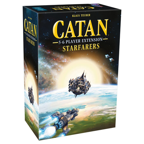 Board Games: Catan - Catan: Starfarers 5-6 Player Extension