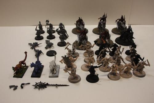 Warhammer AoS Blades of Khorne Lot - Bloodreavers, Flesh Hounds, Bloodcrushers [U-B5S4 273089]