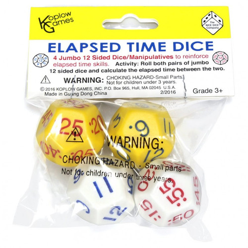 Dice and Gaming Accessories Other Gaming Accessories: Elapsed Time Dice Set