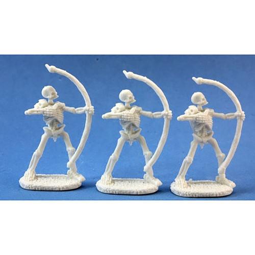 RPG Miniatures: Reaper Mini's - Dark Heaven Bones: Skeletal Archer (3)
