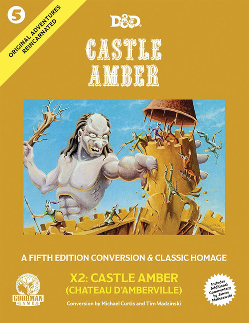 Dungeons & Dragons: Books - Original Adventures Reincarnated #5: Castle Amber