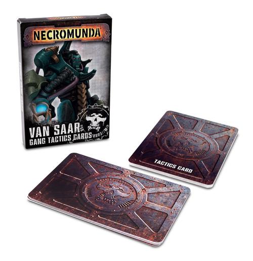 Warhammer 40K: Necromunda - Van Saar Tactics Cards