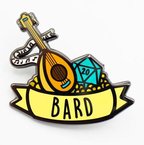 Pins: Banner Class Pin: Bard
