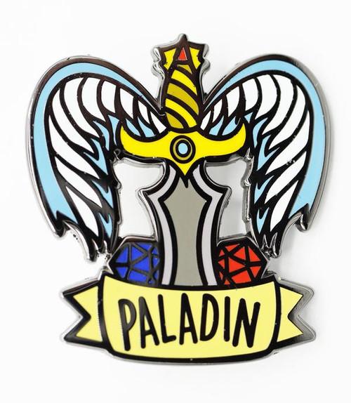 Pins: Banner Class Pin: Paladin