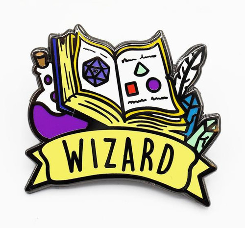 Pins: Banner Class Pin: Wizard