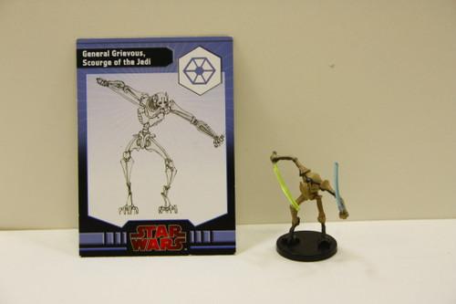 WotC Star Wars Miniatures General Grievous, Scourge of the Jedi [U-B7S3 274117]