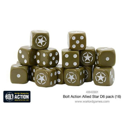Bolt Action: Allied Star D6 Pack (16)
