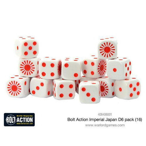 Bolt Action: Imperial Japanese D6 Pack (16)