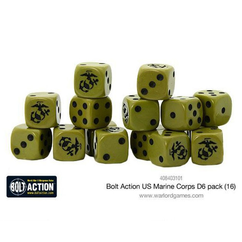 Bolt Action: US Marine Corps D6 Pack (16)