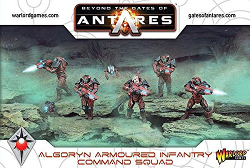 Beyond the Gates of Antares: Algoryn - Command Squad