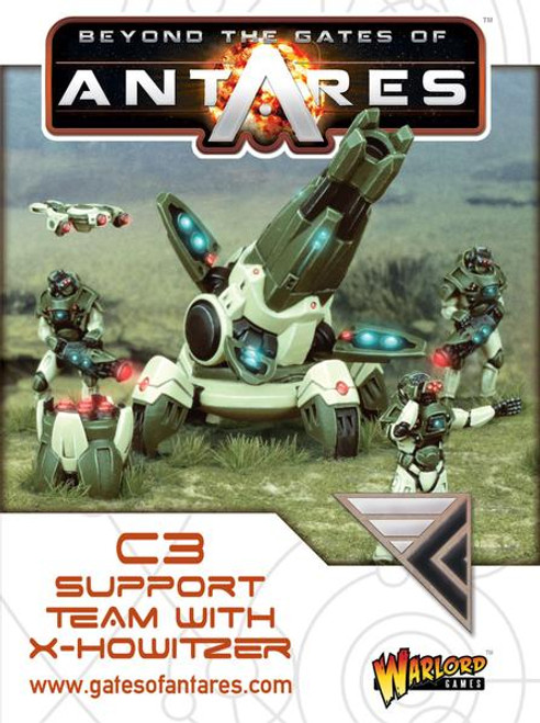 Beyond the Gates of Antares: Concord - Support Team with X-Howitzer