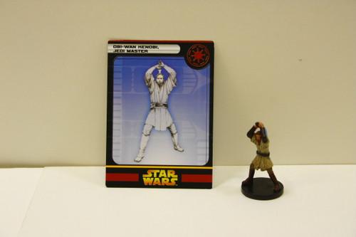 WotC Star Wars Miniatures Obi-Wan Kenobi, Jedi Master [U-B11S6 274094]