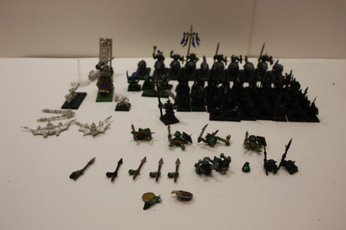 Warhammer AoS Gloomspite Gitz Lot -  Stabbas, Doom Diver, Skarsnik, Wolf Riders [U-B1S3 272098]