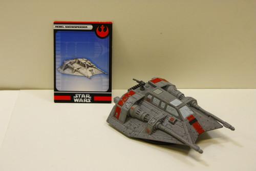 WotC Star Wars Miniatures Snowspeeder [U-B7S4 274100]