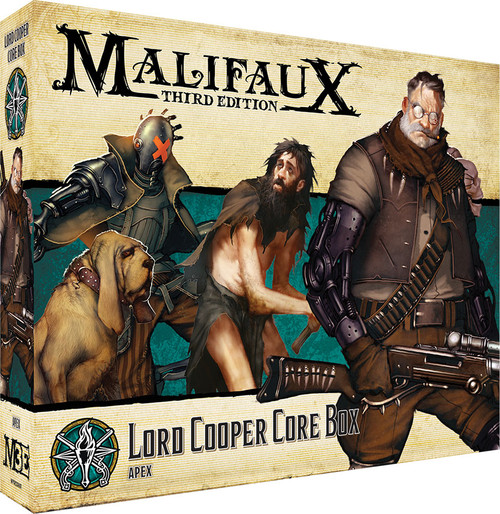 Malifaux: Explorer's Society - Lord Cooper Core Box