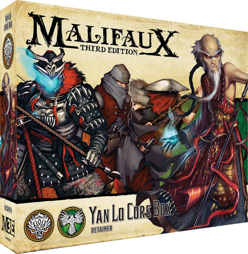 Malifaux: Ten Thunders - Yan Lo Core Box
