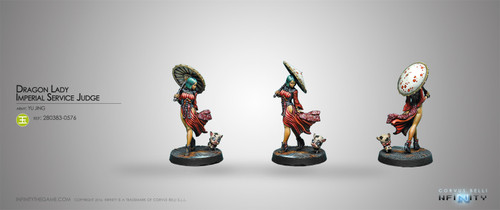 Infinity: Yu Jing - Dragon Lady, Imperial Service Judge - HVT