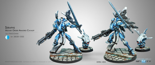 Infinity: PanOceania - Seraphs, Military Order Armored Cavalry