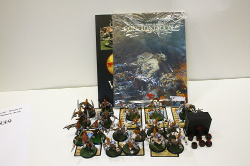 Confrontation: Wolfen Lot - Throne of Stars, Fangs, Serethis, Hunters, Army Book [U-B4S3 274839]