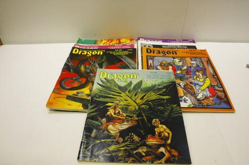 Vintage Dragon Magazine Lot (7) OOP Lot [U-B4S3 276576]
