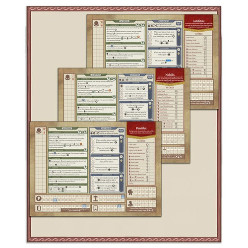 Rome & Roll: Character Board Expansion