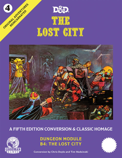 Dungeons & Dragons: Books - Original Adventures Reincarnated #4 - The Lost City