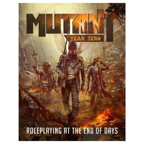Miscellanous RPGs: Mutant: Year Zero