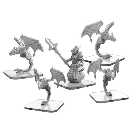 Monpoc: Draken Armada Stalkers and Draken Mystic Unit