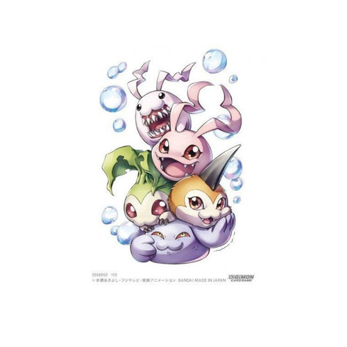 Card Sleeves: Other Printed Sleeves - Digimon TCG Sleeves (60) v3