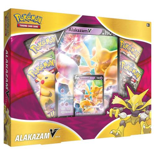 Pokemon TCG: Trainer Boxes and Special Items - Alakazam V Box