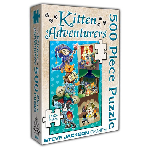 Kitten Adventurers: 500 Piece Puzzle