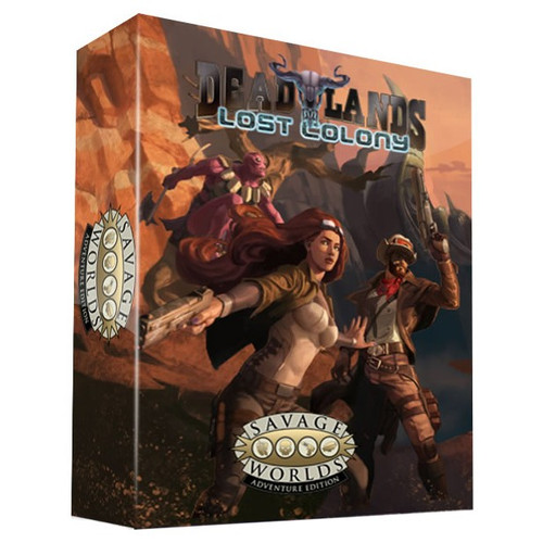 SW: Deadlands: Lost Colony Boxed Set