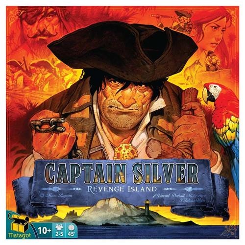 Board Games: Treasure Island: Captain SIlver - Revenge Island