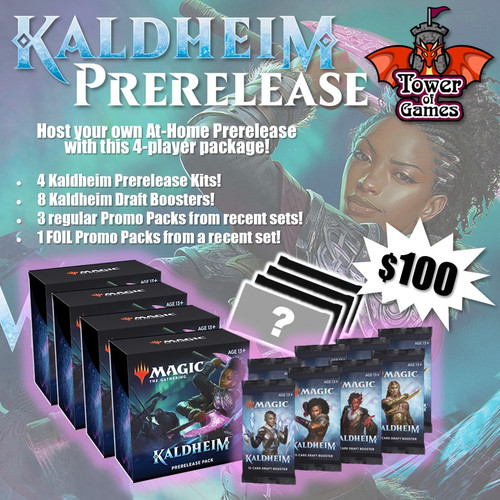 (Preorder) Magic The Gathering Sealed: Kaldheim - KHM At-Home Prerelease Package (4)