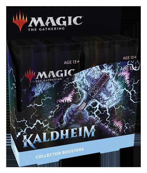 (Preorder) Magic The Gathering Sealed: Kaldheim - KHM Collector Booster Display (12)