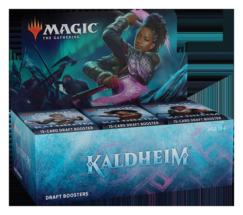 (Preorder) Magic The Gathering Sealed: Kaldheim - KHM Draft Booster Display (36)