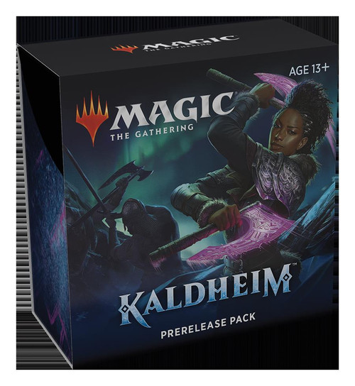 (Preorder) Magic The Gathering Sealed: Kaldheim - KHM PreRelease Kit (Single)