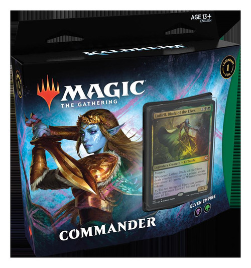 Magic The Gathering Sealed: Kaldheim - KHM Commander Deck - Elven Empire (BG)
