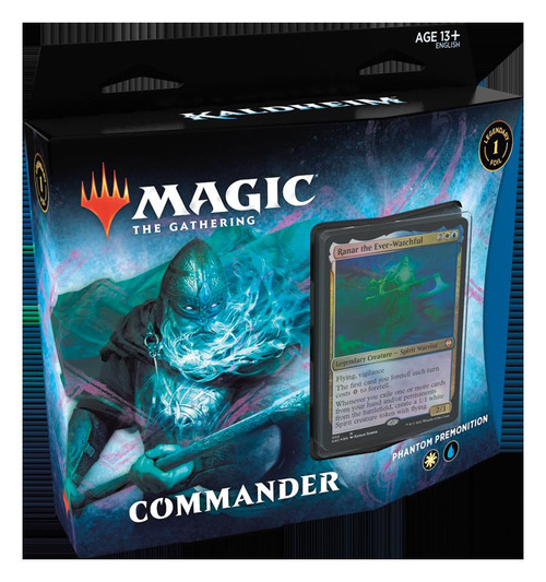 Magic The Gathering Sealed: Kaldheim - KHM Commander Deck - Phantom Premonition (WU)