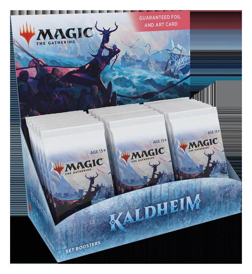 (Preorder) Magic The Gathering Sealed: Kaldheim - KHM Set Booster Display (30)
