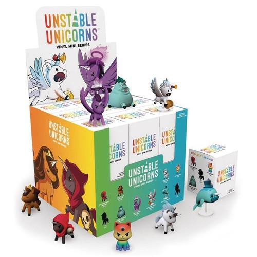 Unstable Unicorns: Vinyl Minis Display